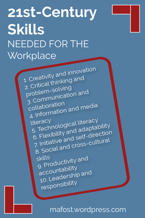 Skills Needed for the Workplace in the 21st-Century