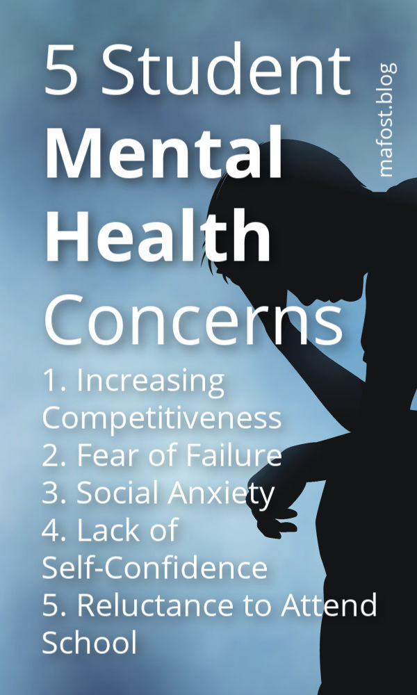 @mafost - 5 Student Mental Health Concerns