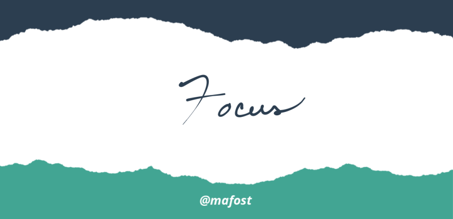 How to Stay Focused in School Leadership and Improvement - Mafost Blog with Expert Co Authors
